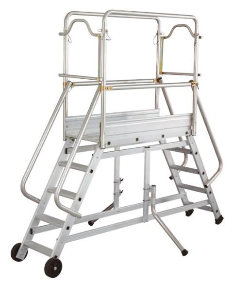 echafaudage roulant en aluminium hymer spe. Black Bedroom Furniture Sets. Home Design Ideas