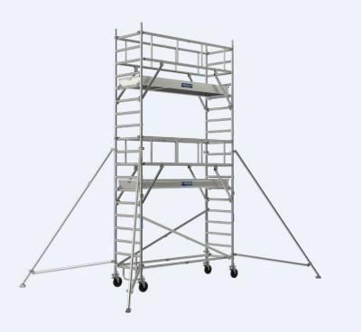 echafaudage roulant prolium line 600 lisses tubesca comabi aluminium spe. Black Bedroom Furniture Sets. Home Design Ideas
